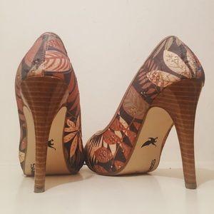 Shiekh Floral Heels